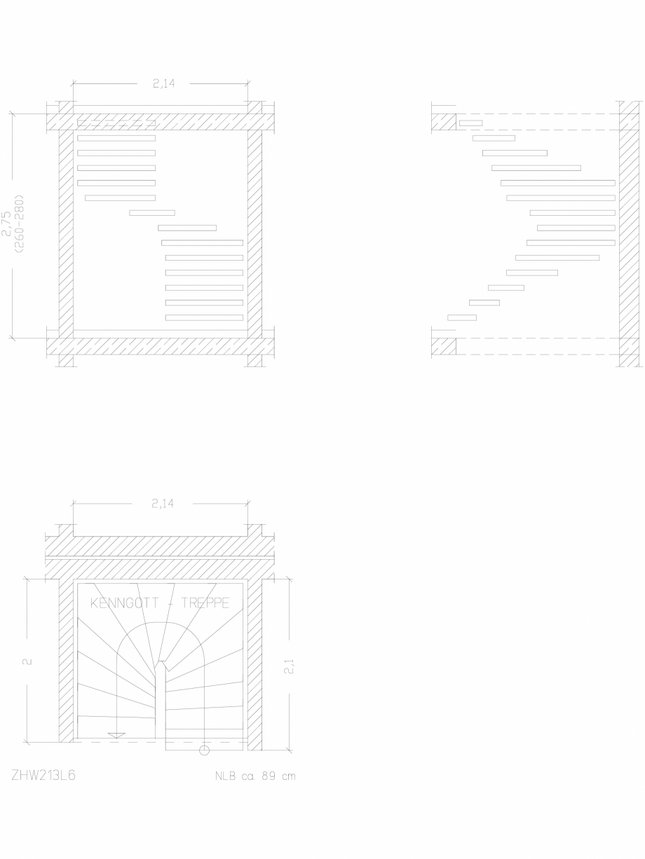 Pagina 1 - CAD-DWG Scara pe structura de metal - ZHW213L6 SCARI RO Detaliu de produs