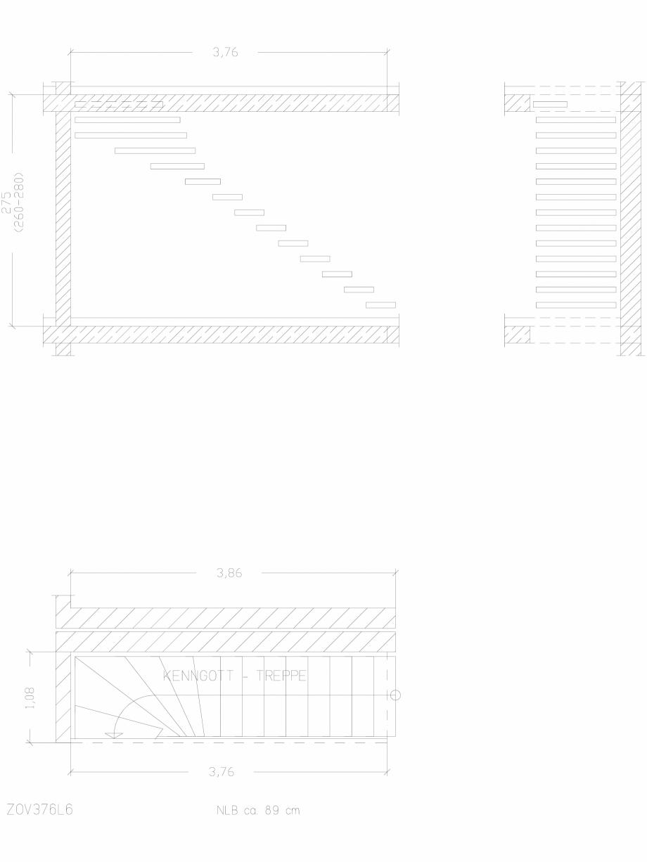 Pagina 1 - CAD-DWG Scara pe structura de metal - ZOV376L6 SCARI RO Detaliu de produs