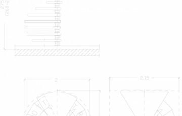 Scara pe structura de metal - ZSQ200L5 SCARI RO