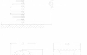 Scara pe structura de metal - ZSR150L2 SCARI RO