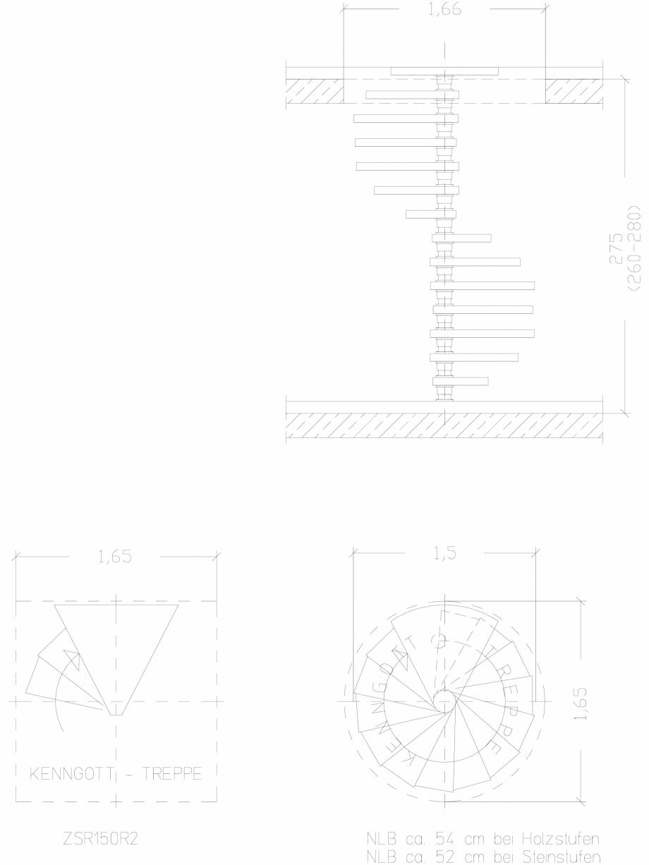 Pagina 1 - CAD-DWG Scara pe structura de metal - ZSR150R2 SCARI RO Detaliu de produs