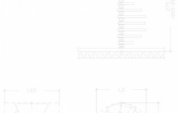 Scara pe structura de metal - ZSR150R2 SCARI RO