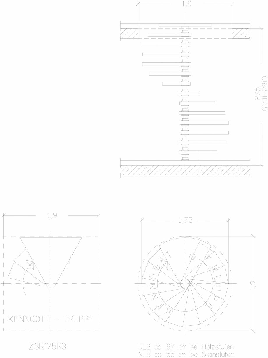 Pagina 1 - CAD-DWG Scara pe structura de metal - ZSR175R3 SCARI RO Detaliu de produs