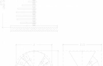 Scara pe structura de metal - ZSR200L5 SCARI RO
