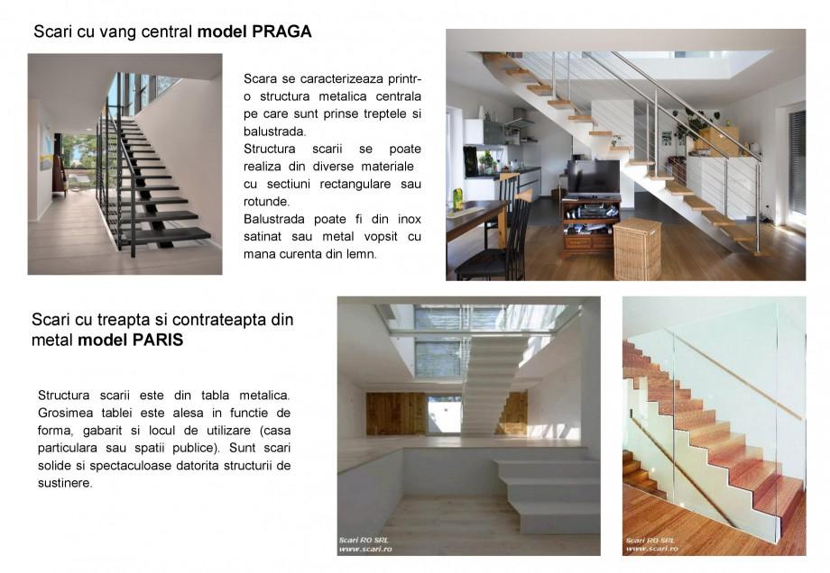 Pagina 5 - Scari pe structura de metal SCARI RO Autoportante, Athen, Berlin, Praga, Scari metalice...