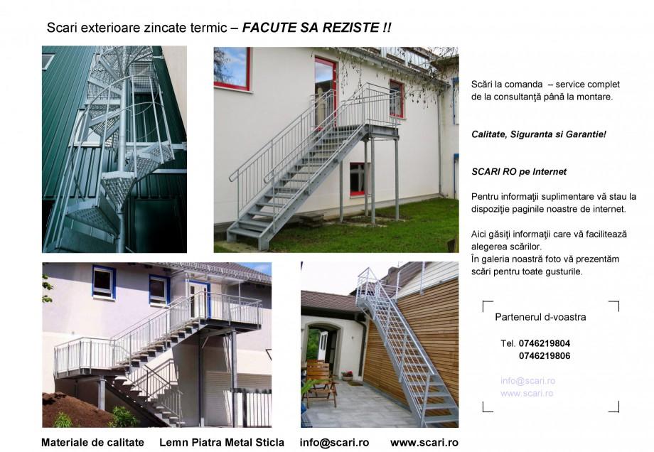 Pagina 7 - Scari pe structura de metal SCARI RO Autoportante, Athen, Berlin, Praga, Scari metalice...