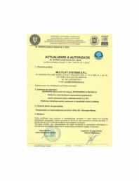 Actualizare autorizatie - 2016 - reparare revizie si intretinere pentru platforme autoridicatoare si ridicatoare de persoane