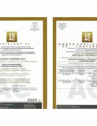 Certificat UE de conformitate