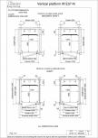 Date tehnice pentru liftul hidraulic pentru persoane cu dizabilitati motorii Vimec - E07 Easy Move