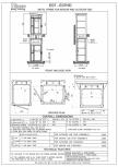 Date tehnice pentru liftul hidraulic cu cadru metalic - Heavy Duty Vimec - E07 Easy Move