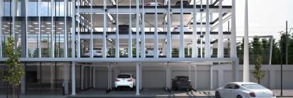 Sistem parcare bidirectional, independent, fara fundatura Modulo Multi Sisteme de parcare