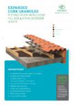 Granule din pluta expandata - Acoperis AMORIM - EXP-GR3/15