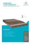 Granule din pluta expandata - Pardoseala decorativa AMORIM - EXP-GR3/15