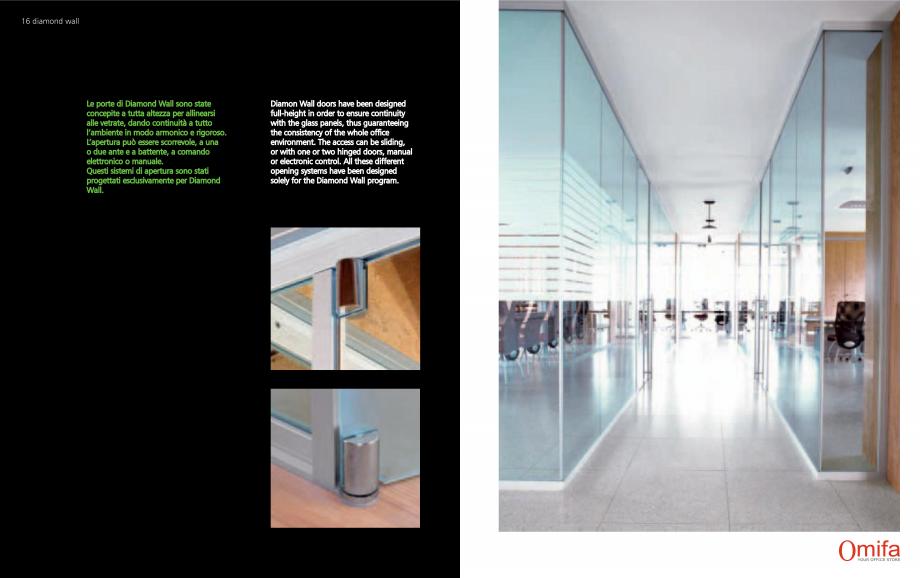 Pagina 9 - Pereti modulari de compartimentare din sticla OMIFA DIAMOND WALL Catalog, brosura Engleza...