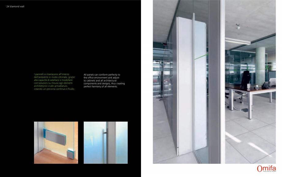 Pagina 13 - Pereti modulari de compartimentare din sticla OMIFA DIAMOND WALL Catalog, brosura...
