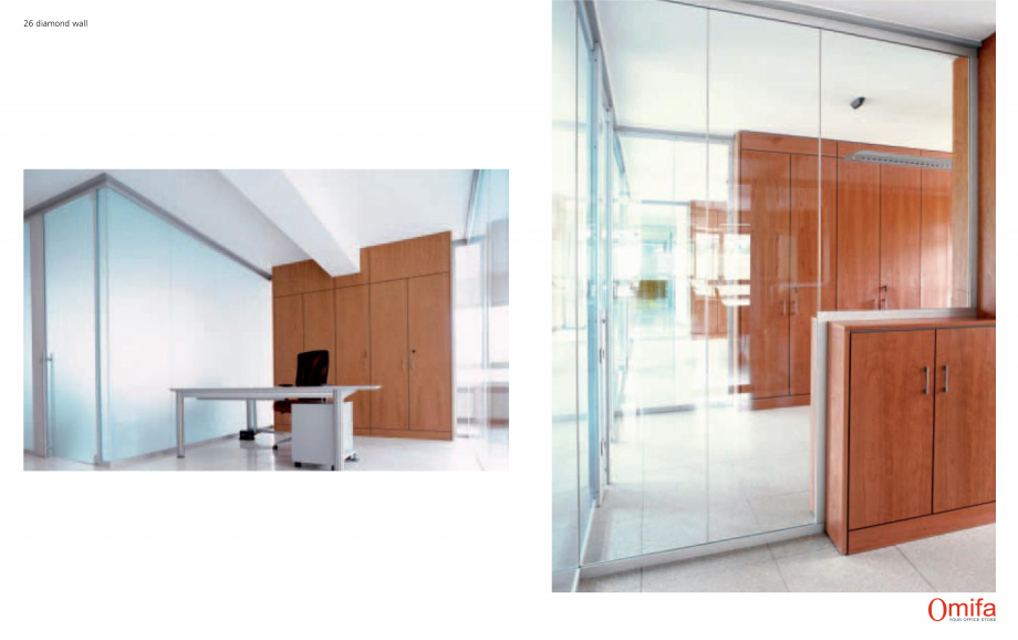 Pagina 14 - Pereti modulari de compartimentare din sticla OMIFA DIAMOND WALL Catalog, brosura...