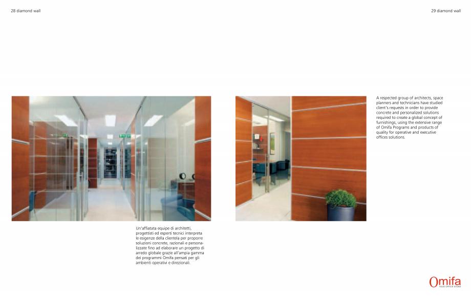 Pagina 15 - Pereti modulari de compartimentare din sticla OMIFA DIAMOND WALL Catalog, brosura...