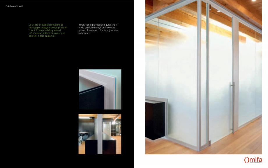 Pagina 18 - Pereti modulari de compartimentare din sticla OMIFA DIAMOND WALL Catalog, brosura...