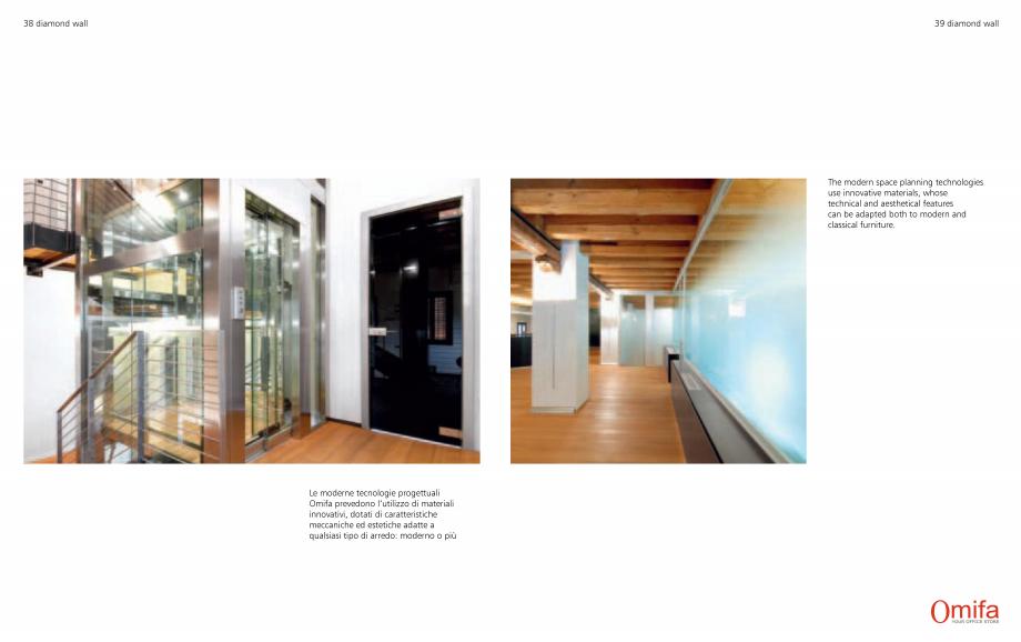Pagina 20 - Pereti modulari de compartimentare din sticla OMIFA DIAMOND WALL Catalog, brosura...