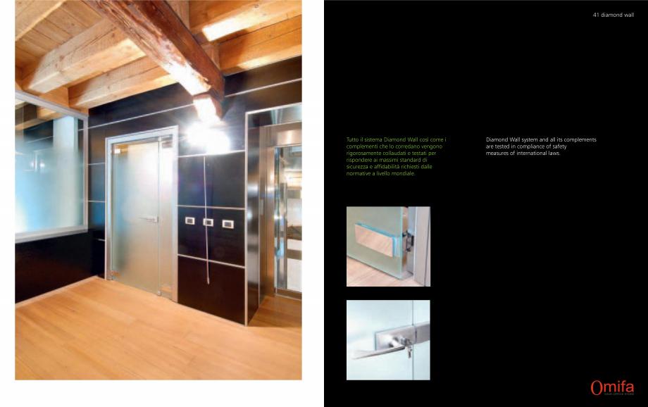 Pagina 21 - Pereti modulari de compartimentare din sticla OMIFA DIAMOND WALL Catalog, brosura...