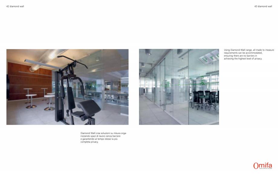 Pagina 22 - Pereti modulari de compartimentare din sticla OMIFA DIAMOND WALL Catalog, brosura...