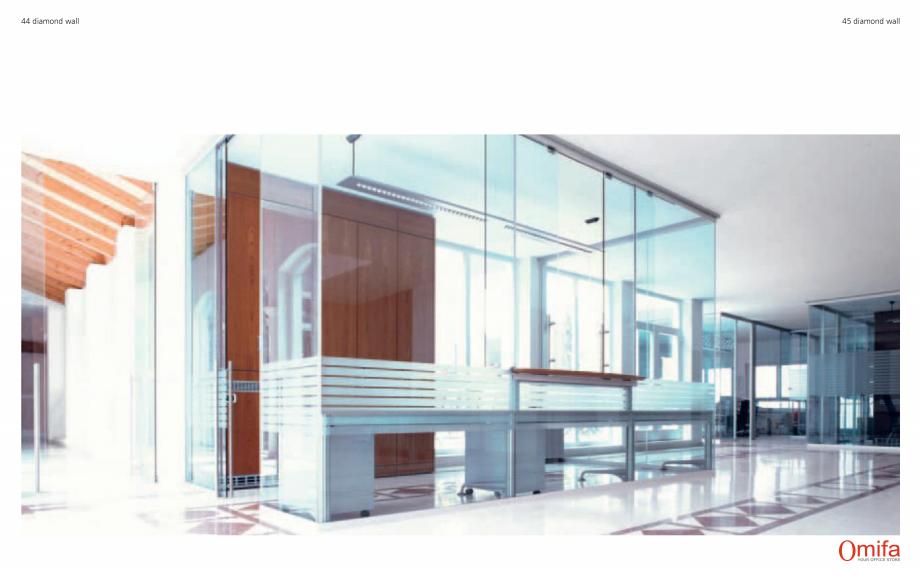 Pagina 23 - Pereti modulari de compartimentare din sticla OMIFA DIAMOND WALL Catalog, brosura...