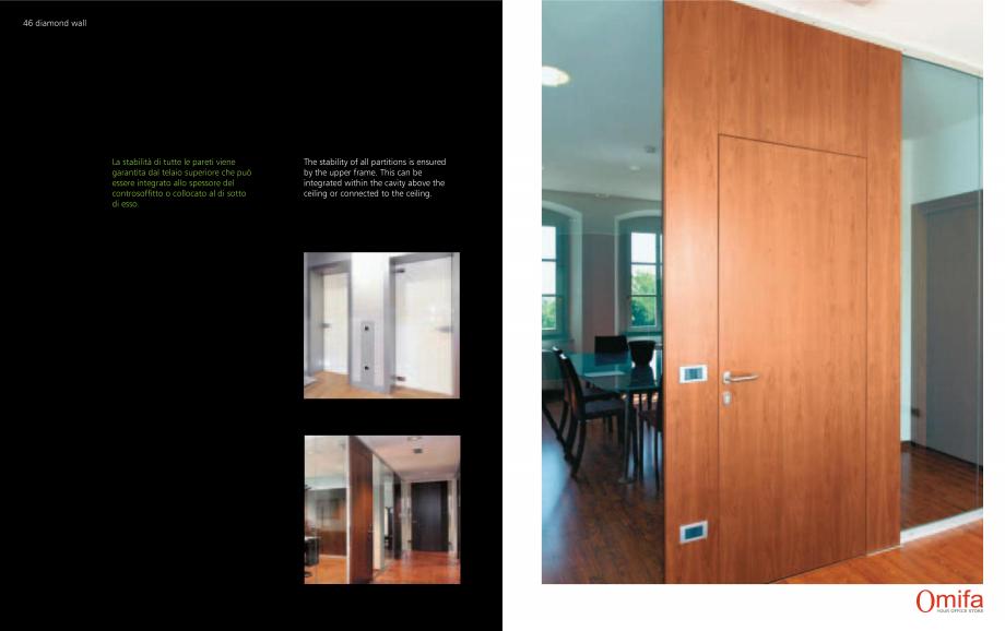 Pagina 24 - Pereti modulari de compartimentare din sticla OMIFA DIAMOND WALL Catalog, brosura...