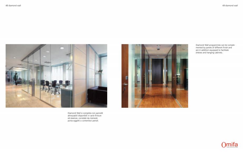 Pagina 25 - Pereti modulari de compartimentare din sticla OMIFA DIAMOND WALL Catalog, brosura...