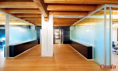 Perete modular de compartimentare din sticla / Perete modular de compartimentare din sticla -  DIAMOND WALL 2