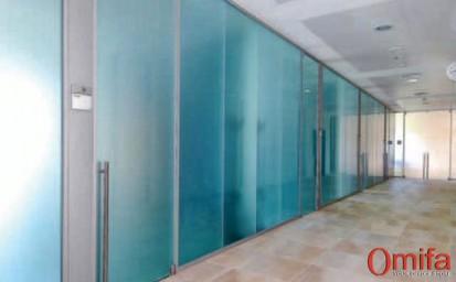 Perete modular de compartimentare din sticla / Perete modular de compartimentare din sticla -  DIAMOND WALL 4