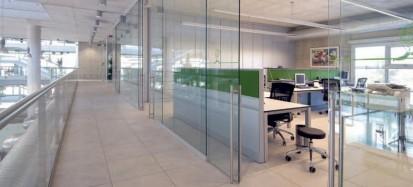 Perete modular de compartimentare din sticla / Perete modular de compartimentare din sticla -  DIAMOND WALL 6