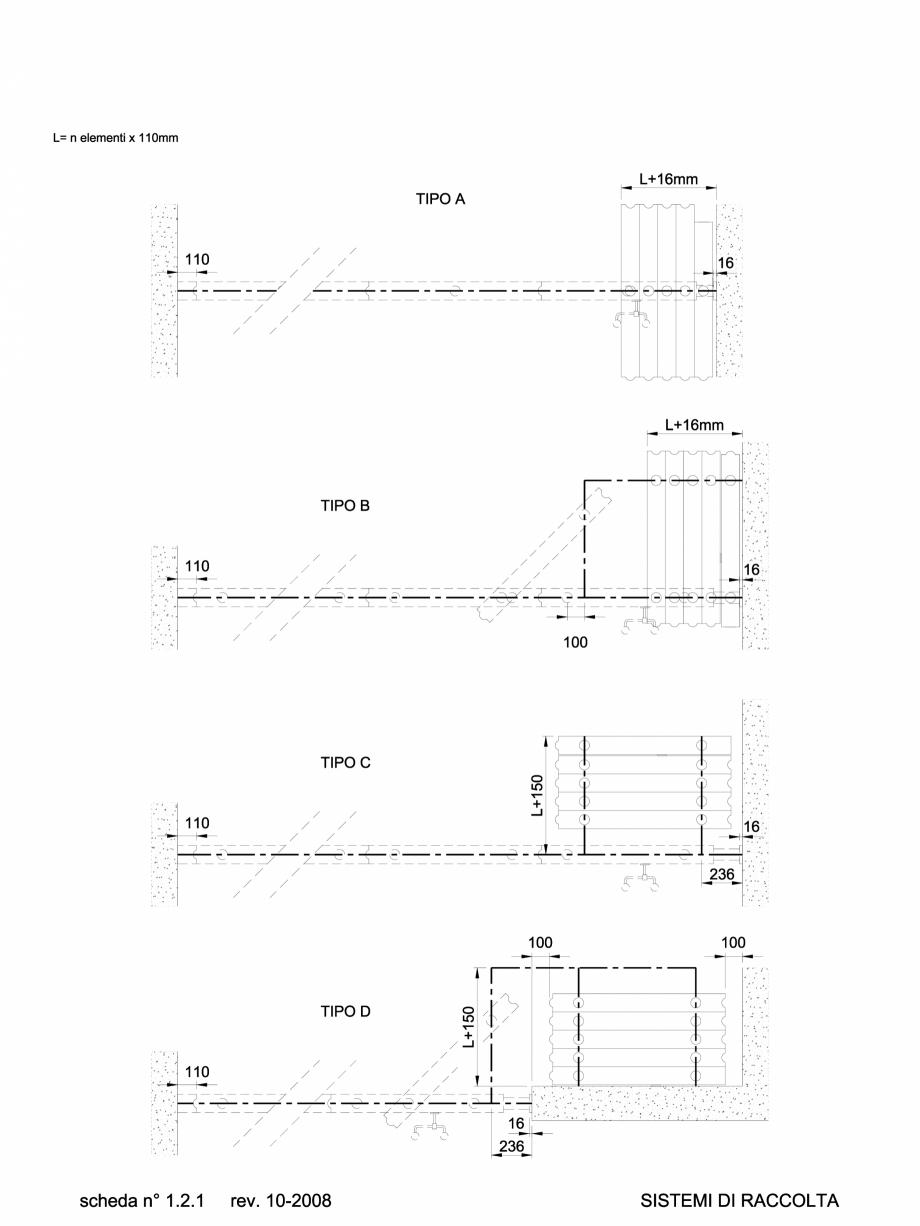 Pagina 1 - CAD-DWG 1.1.1 Sistem de parcare partitii amovibile TIP A-B-C-D ANAUNIA Detaliu de produs ...