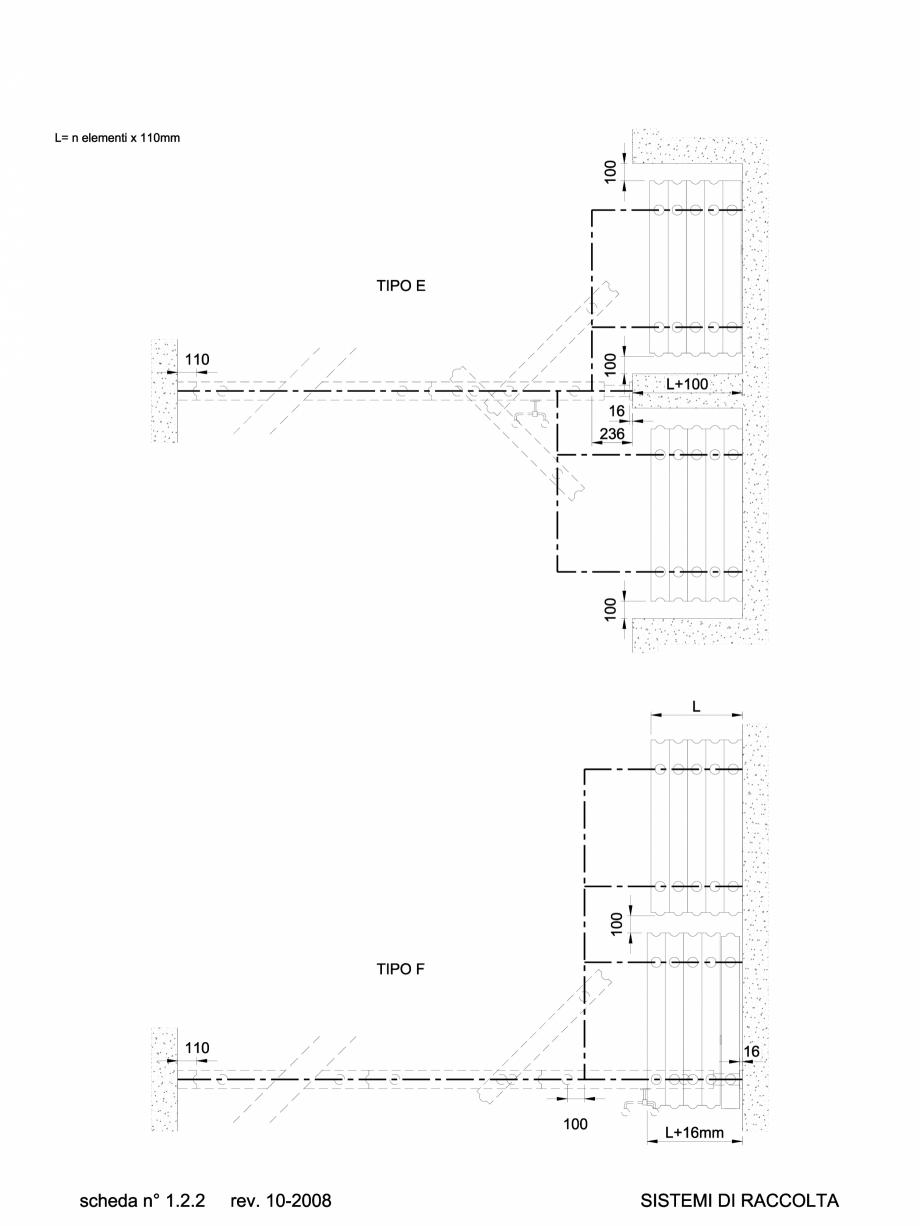 Pagina 1 - CAD-DWG 1.1.2 Sistem de parcare partitii amovibile TIP E-F ANAUNIA Detaliu de produs...