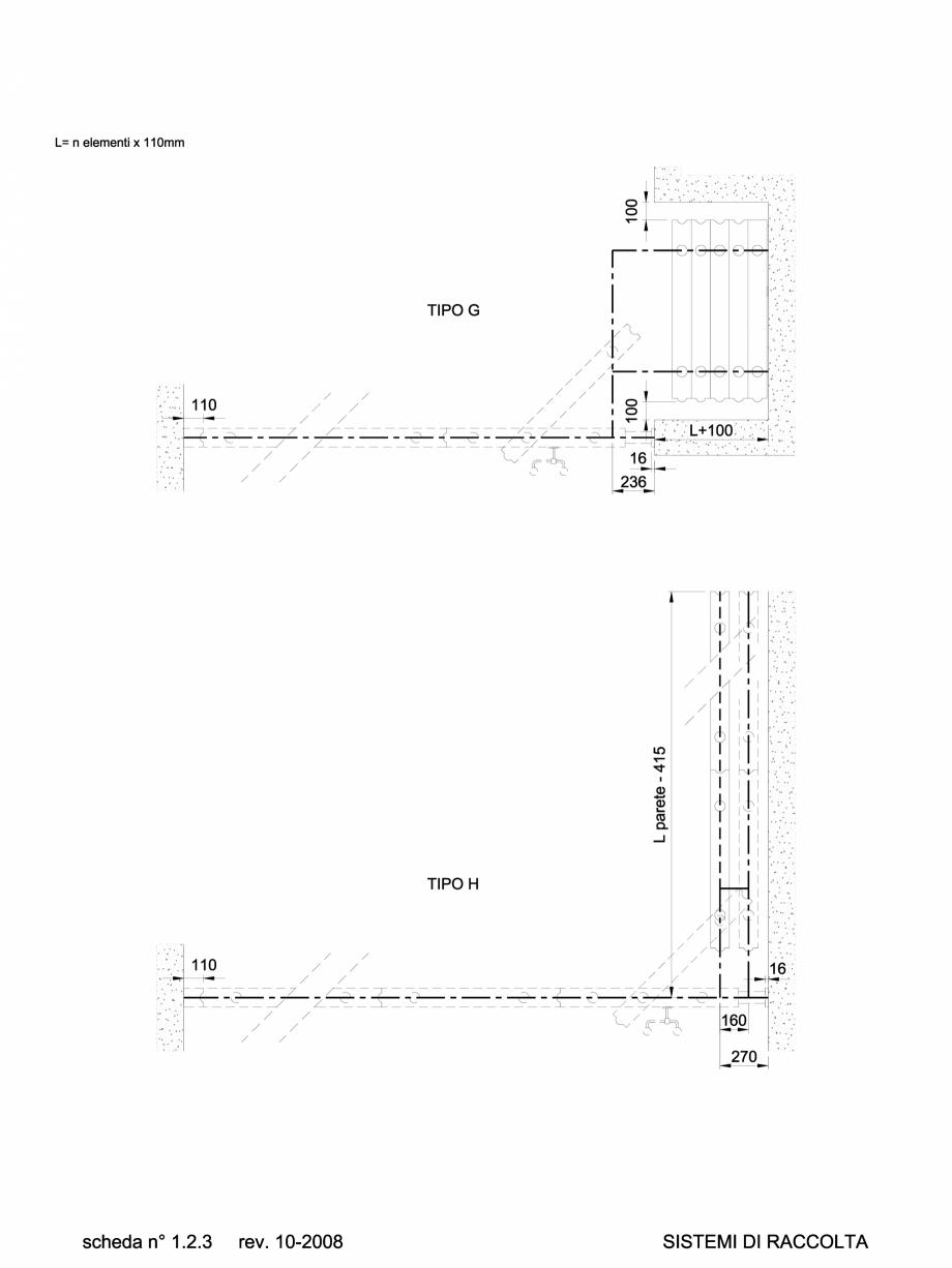 Pagina 1 - CAD-DWG 1.1.3 Sistem de parcare partitii amovibile TIP G-H ANAUNIA Detaliu de produs...