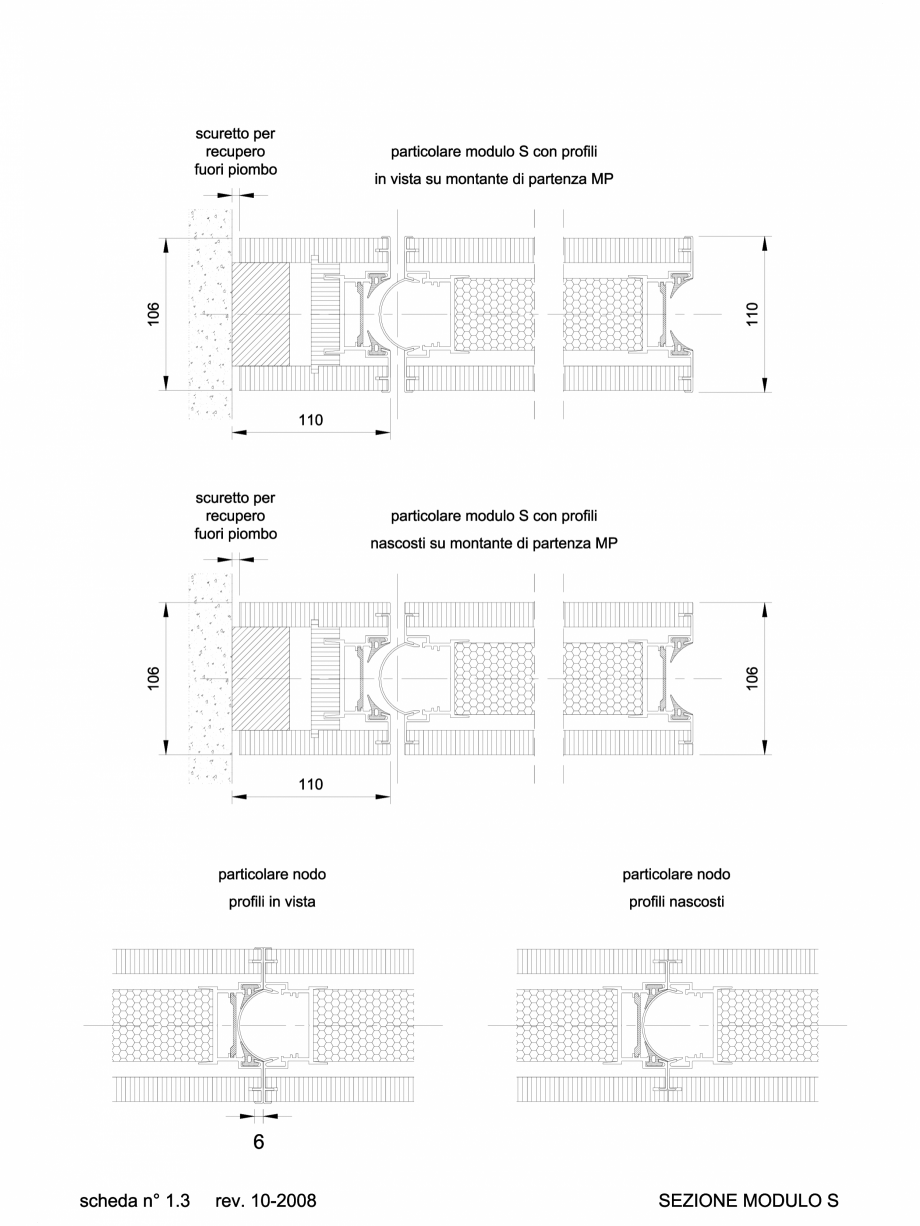 Pagina 1 - CAD-DWG 2.3.1 Sectiune partitie S ANAUNIA Detaliu de produs PMI-Maxi