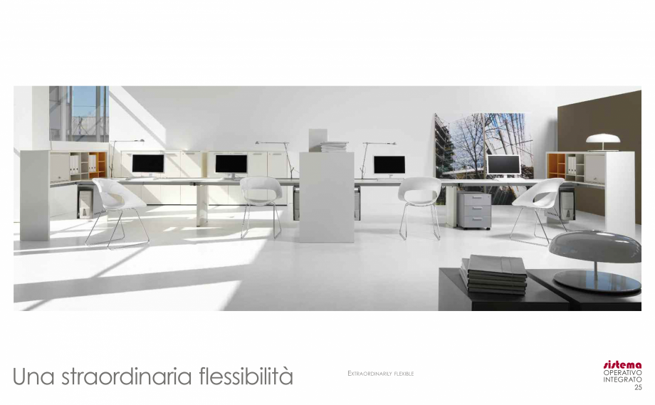 Pagina 14 - Mobilier pentru birouri  IVM Colectia ARKO Catalog, brosura Engleza, Franceza, Italiana ...