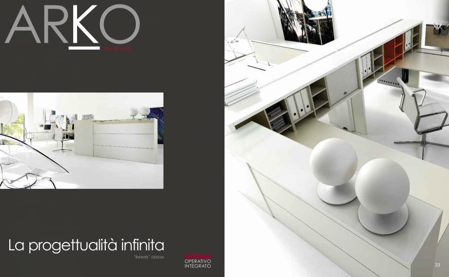 Pagina 18 - Mobilier pentru birouri  IVM Colectia ARKO Catalog, brosura Engleza, Franceza, Italiana ...
