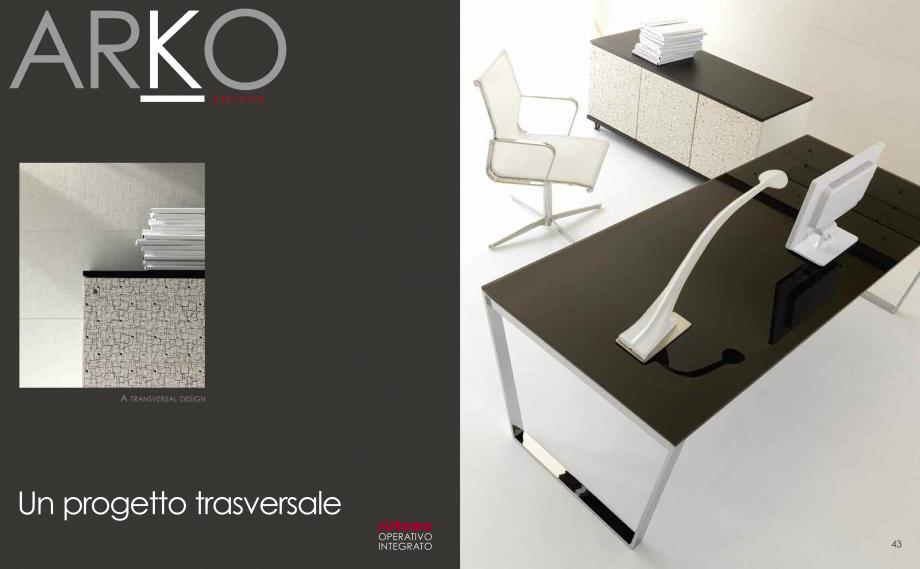 Pagina 23 - Mobilier pentru birouri  IVM Colectia ARKO Catalog, brosura Engleza, Franceza, Italiana ...