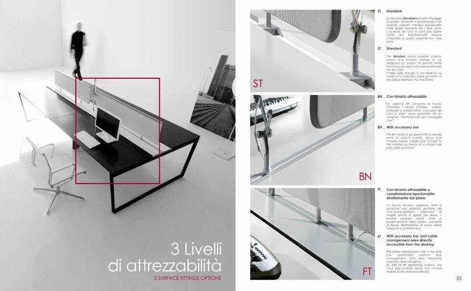 Pagina 29 - Mobilier pentru birouri  IVM Colectia ARKO Catalog, brosura Engleza, Franceza, Italiana ...