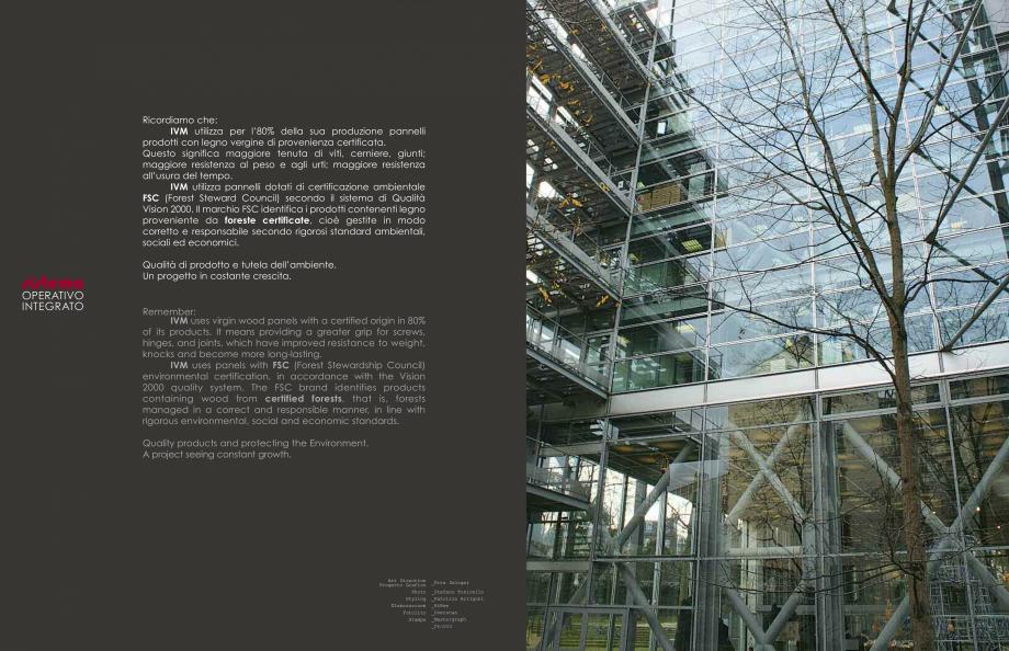 Pagina 32 - Mobilier pentru birouri  IVM Colectia ARKO Catalog, brosura Engleza, Franceza, Italiana ...