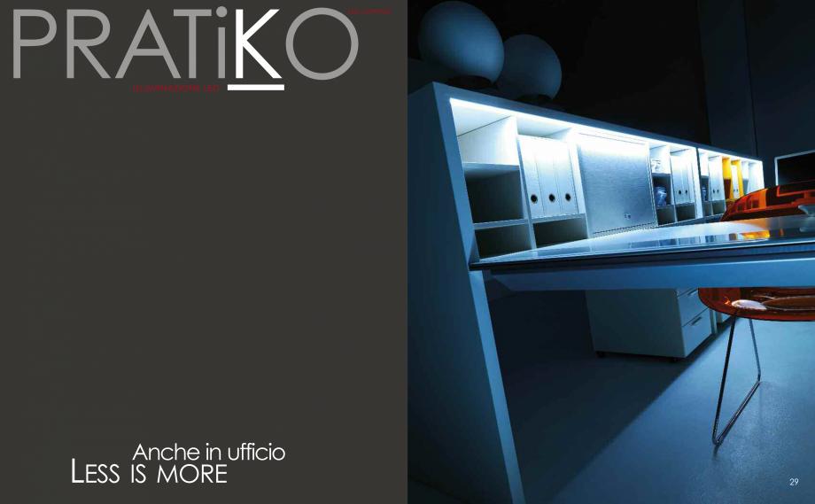 Pagina 16 - Mobilier pentru birouri IVM Colectia PRATIKO Catalog, brosura Engleza, Italiana  in wood...