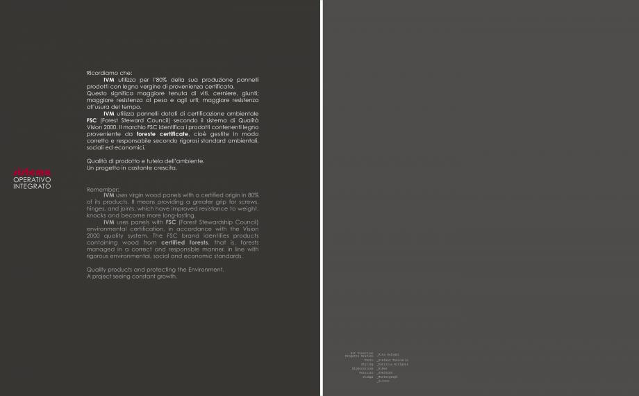 Pagina 28 - Mobilier pentru birouri IVM Colectia PRATIKO Catalog, brosura Engleza, Italiana  for...
