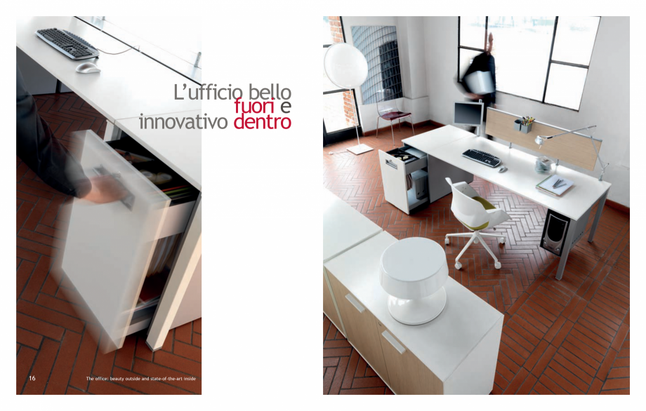 Pagina 10 - Mobilier pentru birouri IVM Colectia KOSMOS Catalog, brosura Engleza, Italiana Every...