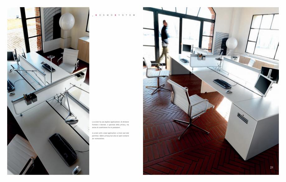 Pagina 12 - Mobilier pentru birouri IVM Colectia KOSMOS Catalog, brosura Engleza, Italiana  sharing ...