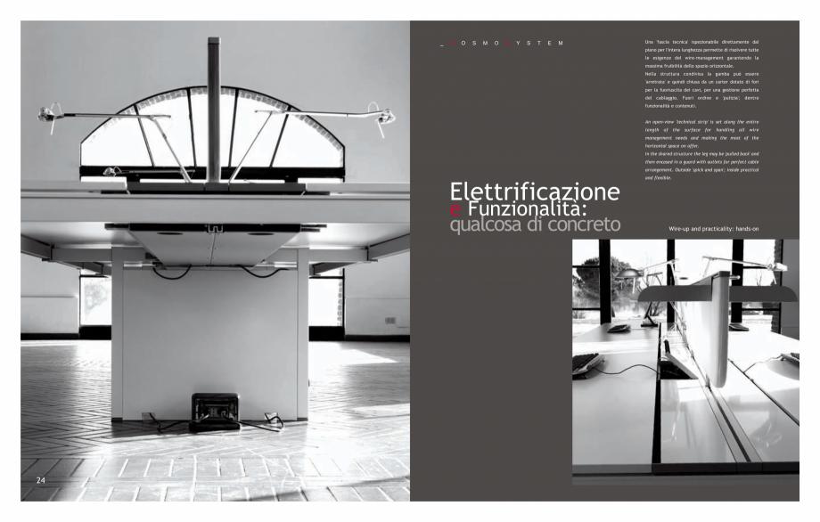 Pagina 14 - Mobilier pentru birouri IVM Colectia KOSMOS Catalog, brosura Engleza, Italiana chi...