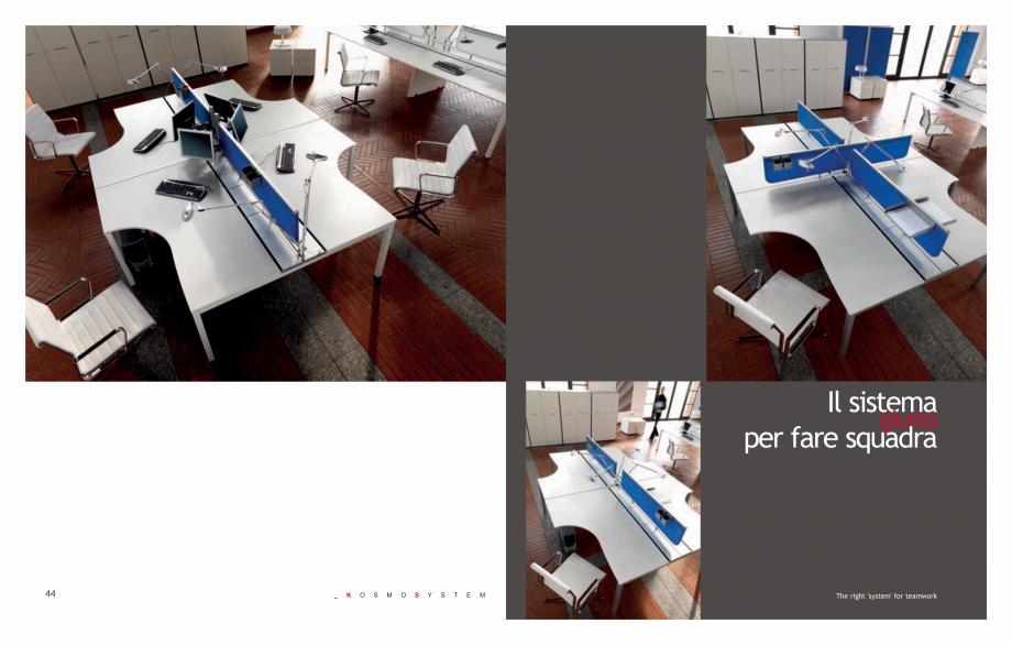 Pagina 24 - Mobilier pentru birouri IVM Colectia KOSMOS Catalog, brosura Engleza, Italiana  for...