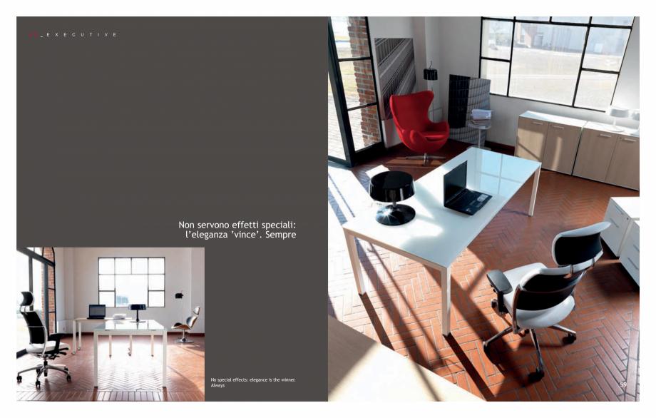 Pagina 31 - Mobilier pentru birouri IVM Colectia KOSMOS Catalog, brosura Engleza, Italiana for...