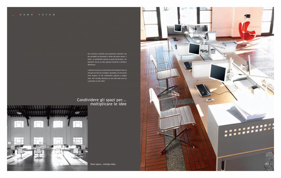 Pagina 33 - Mobilier pentru birouri IVM Colectia KOSMOS Catalog, brosura Engleza, Italiana atite (il...