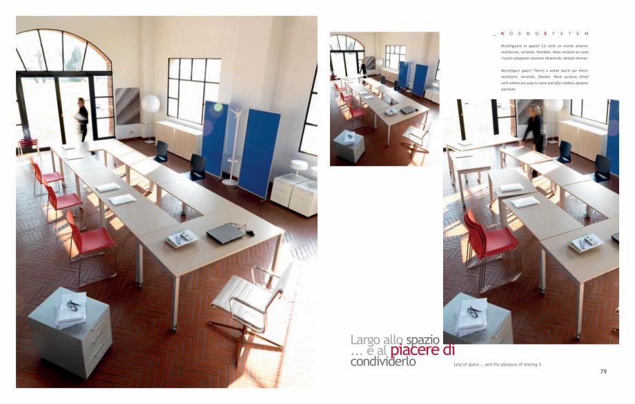 Pagina 41 - Mobilier pentru birouri IVM Colectia KOSMOS Catalog, brosura Engleza, Italiana ierla... ...
