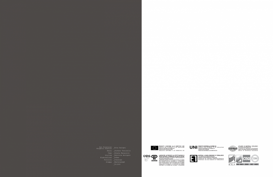 Pagina 50 - Mobilier pentru birouri IVM Colectia KOSMOS Catalog, brosura Engleza, Italiana